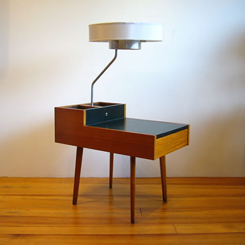 George nelson 4634 l corner table with attached lamp and planter george nelson 4634 l corner table with attached lamp and planter end table side table herman miller aloadofball Gallery