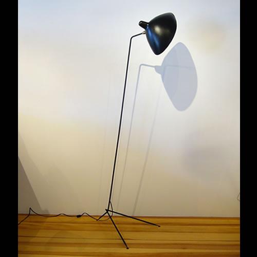 Serge mouille lampadaire simple lamp - Lampadaire serge mouille ...